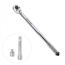 "Torque wrench 1/2"" adapter 1/2x3/8, extender 125 mm 1/2 28-210 NM INTERTOOL XT-9007"