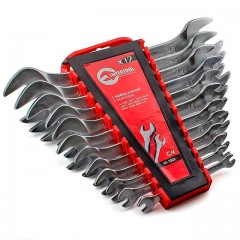 Open end wrench set, 12 pcs., 6-32 mm CrV INTERTOOL HT-1003