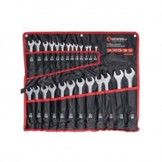 Combination wrench set 25 pcs (cover), 6-32 mm CrV INTERTOOL HT-1200