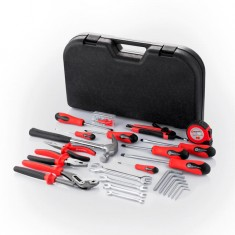 Tool set 24 pcs INTERTOOL ET-6001: фото 3