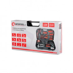 Tool set 24 pcs INTERTOOL ET-6001: фото 5