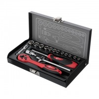 Tool set, 17 pcs INTERTOOL ET-6017