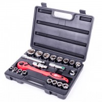 Professional tool set, 21 pcs INTERTOOL ET-6021