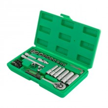 "Professional tool set 36 pcs, 1/4"", CrV INTERTOOL ET-6036"
