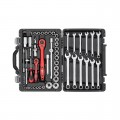 "Professional tool set 1/4"" & 1/2"" 61 pcs INTERTOOL ET-6061"