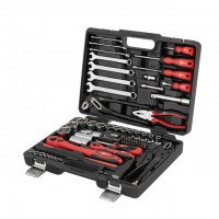 "Professional tool set 1/2"" & 1/4"" 72 pcs INTERTOOL ET-6073"