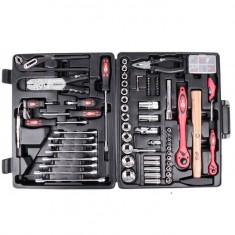 "Professional tool set 1/2"" & 1/4"" 99 pcs INTERTOOL ET-6099: фото 2"