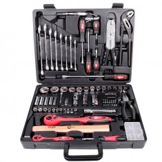 "Professional tool set 1/2"" & 1/4"" 99 pcs INTERTOOL ET-6099: фото 3"