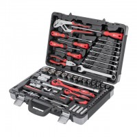 "Professional tool set 1/2"" & 1/4"", 78 pcs INTERTOOL ET-7078"
