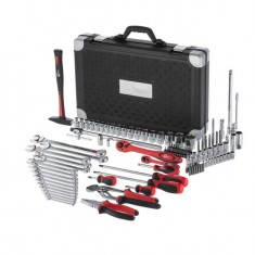 "Professional tool set 1/4"" & 1/2""; 119 pcs INTERTOOL ET-7119: фото 3"