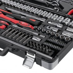 "Professional tool set 1/4"" & 1/2""; 119 pcs INTERTOOL ET-7119: фото 5"