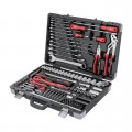 "Professional tool set 1/4"" & 1/2""; 119 pcs INTERTOOL ET-7119"