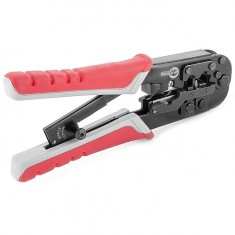 Modular Plug Crimper, RJ11, RJ12, RJ14 INTERTOOL HT-7052: фото 5