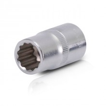 "Bi-hexagonal socket, 1/2"", 13 mm INTERTOOL ET-0213"