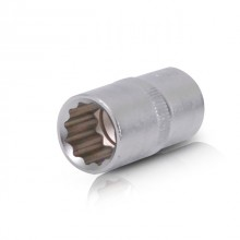 "Bi-hexagonal socket, 1/2"", 16 mm INTERTOOL ET-0216"