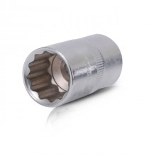 "Bi-hexagonal socket, 1/2"", 17 mm INTERTOOL ET-0217"