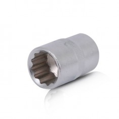 "Bi-hexagonal socket, 1/2"", 18 mm INTERTOOL ET-0218"