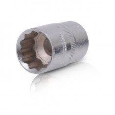"Bi-hexagonal socket, 1/2"", 19 mm INTERTOOL ET-0219"