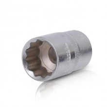 "Bi-hexagonal socket, 1/2"", 20 mm INTERTOOL ET-0220"