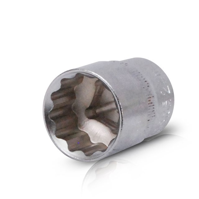 "Bi-hexagonal socket, 1/2"", 24 mm INTERTOOL ET-0224"