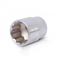 "Bi-hexagonal socket, 1/2"", 27 mm INTERTOOL ET-0227"