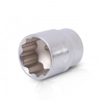 "Bi-hexagonal socket, 1/2"", 30 mm INTERTOOL ET-0230"