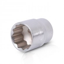 "Bi-hexagonal socket, 1/2"", 32 mm INTERTOOL ET-0232"