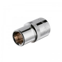 "Hexagonal socket 1/2"", 12 mmx38 mm, CrV INTERTOOL ET-0012"