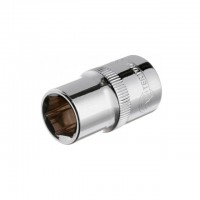 "Hexagonal socket 1/2"", 13 mmx38 mm, CrV INTERTOOL ET-0013"