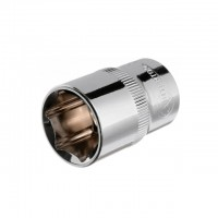 "Hexagonal socket 1/2"", 19 mmx38 mm, CrV INTERTOOL ET-0019"