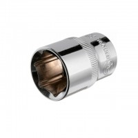 "Hexagonal socket 1/2"", 20 mmx38 mm, CrV INTERTOOL ET-0020"