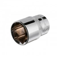 "Hexagonal socket 1/2"", 21 mmx38 mm, CrV INTERTOOL ET-0021"