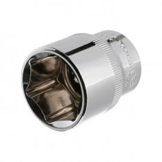 "Hexagonal socket 1/2"", 27 mmx42 mm, CrV INTERTOOL ET-0027"