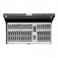 Socket set, 40 pcs INTERTOOL HT-1848