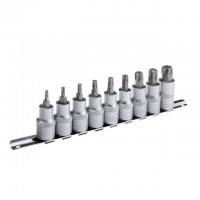 Torx socket set, 9 pcs INTERTOOL HT-1849