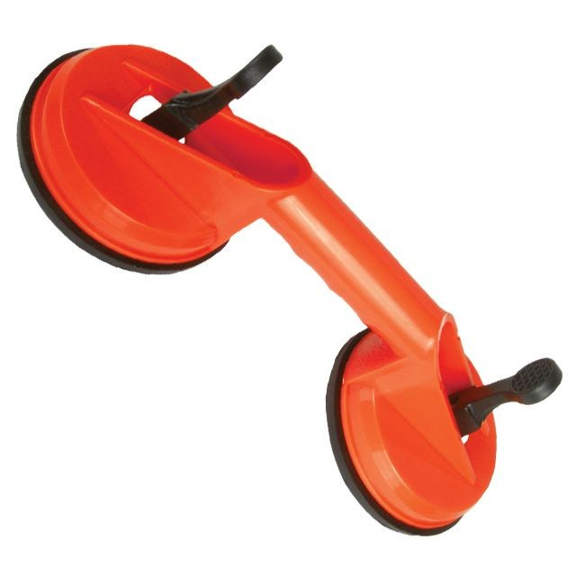 Suction cup, double, 2x120mm, max 80kg INTERTOOL HT-7102