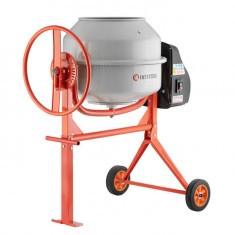 Concrete mixer 375 W, 120 l, 30 rpm INTERTOOL DT-9120: фото 3