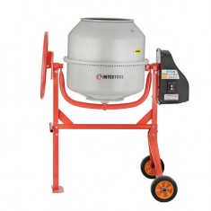 Concrete mixer 550 W, 180 l, 30 rpm INTERTOOL DT-9180: фото 2