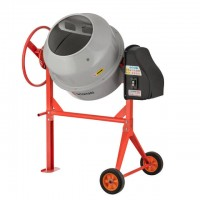 Concrete mixer 550 W, 180 l, 30 rpm INTERTOOL DT-9180