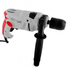 Impact drill, 650W, 0-3000rpm, chuck jaw width, min./max.1.5/13mm, reverse, self-tightening chuck INTERTOOL DT-0116: фото 4