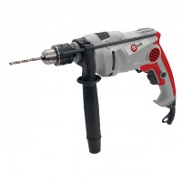 Impact drill, 810W, 0-3000rpm, chuck jaw width, min./max. 1.5/13mm, reverse, rotation adjustment INTERTOOL DT-0118