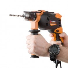 Impact drill STORM 600 W, 0-2800 rpm, 1/13 mm INTERTOOL WT-0106: фото 5