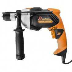 Impact drill STORM 760 W, 0-2600 rpm, 1.5/13 mm, reverse, smooth speed control INTERTOOL WT-0107