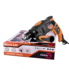 Hammer drill STORM 850 W, 0-2800 rpm, 1/13 mm INTERTOOL WT-0108: фото 10