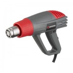Heat gun 2000 W, 3 modes, working temperature 60-600 С, airflow 300-500 l/min INTERTOOL DT-2420