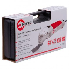 Multitool (Renovator), 250 W, 15000-22000 strokes/pm, accessories, plactic case INTERTOOL DT-0525: фото 12