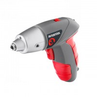 Cordless scredriver 3.6V INTERTOOL DT-0301