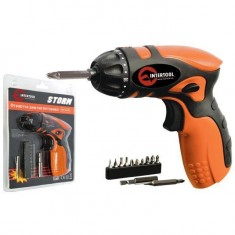 Cordless scredriver STORM 4.8 V INTERTOOL WT-03220