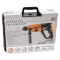 Rotary hammer STORM SDS PLUS 920 W, 0-980 rpm, 0-5185 bpm, 3 modes, case+accessories INTERTOOL WT-0152
