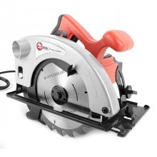 Circular saw 1200W, 4500rpm, cutting depth (90°) 63mm, cutting depth (45°) 38mm, blade diameter 20mm/185mm INTERTOOL DT-0612